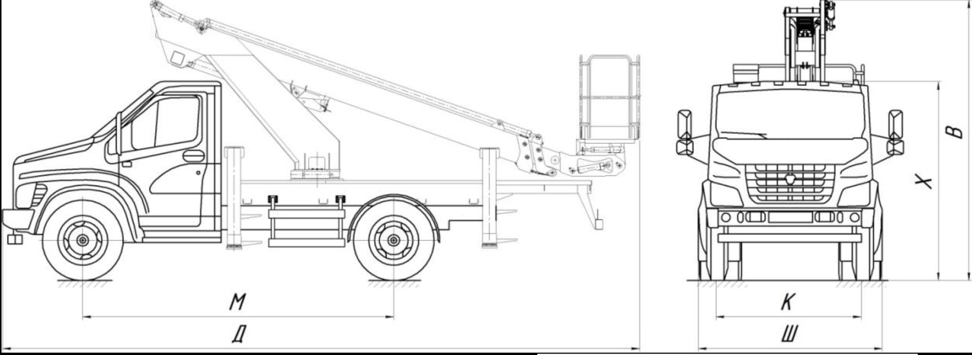 ГАЗон-NEXT (ГАЗ-C41) 4х4