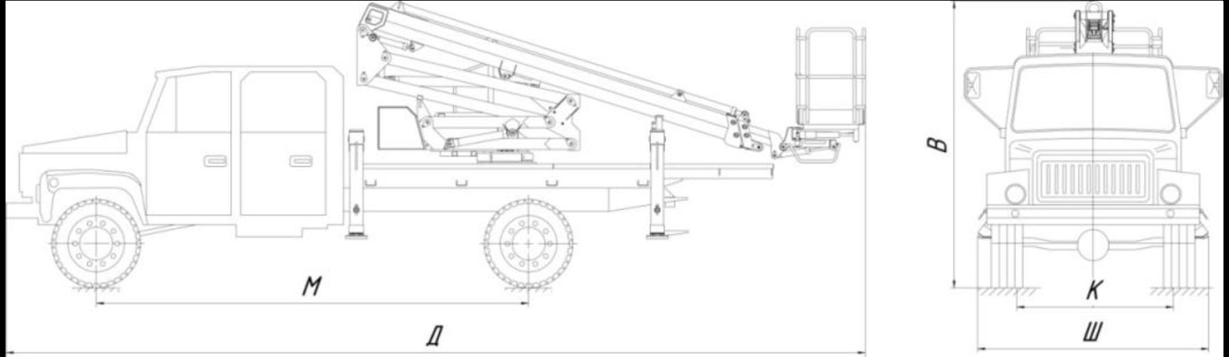 ГАЗ 33086 Земляк 4х4 двухрядная пятиместная кабиной