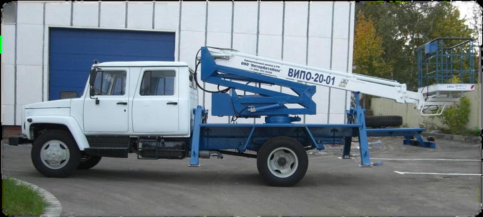 ГАЗ 3309 4х2 двухрядная пятиместная кабиной